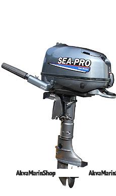 Четырёхтактный лодочный мотор SEA-PRO F 6S