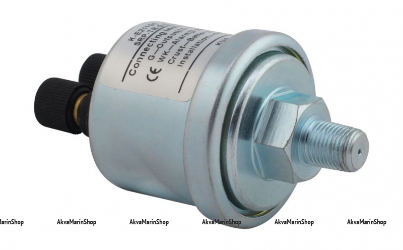 Датчик давления масла 0-5 бар с аварийной сигнализацией при 0.8 бар резьба NPT1/8 KUS Арт VDNKE21104