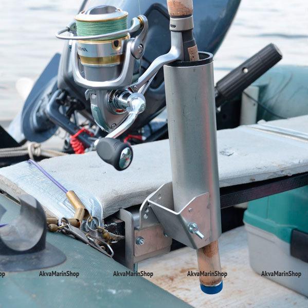 Держатель спиннинга на струбцине, сталь с порошковой окраской Арт Kl DS-155