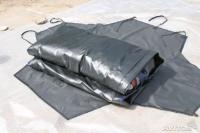 Баул в форме конверта из непромокаемой ткани