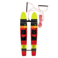 Детские лыжи с соединительной планкой Арт ММ10265434