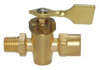 Двухходовый бронзовый топливный кран Арт MM10262733