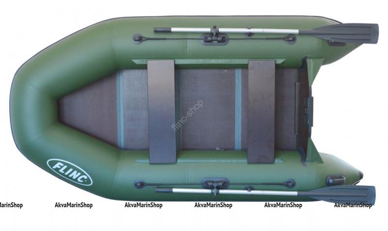 Двухместная надувная лодка FLINC FT260L