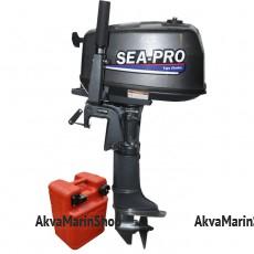 Двухтактный лодочный мотор SEA-PRO T 5 S