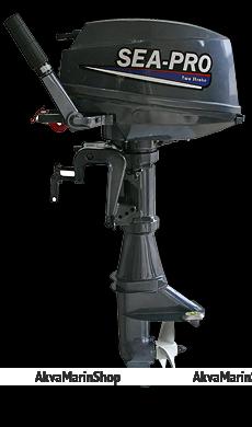 Двухтактный лодочный мотор  SEA-PRO T8