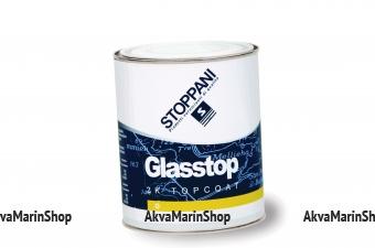 Двухкомпонентная полиуретановая эмаль GLASSTOP Морской-синий