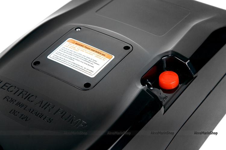 Электрический насос для надувных лодок GP-80 B со встроенным аккумулятором и механическим регулятором давления