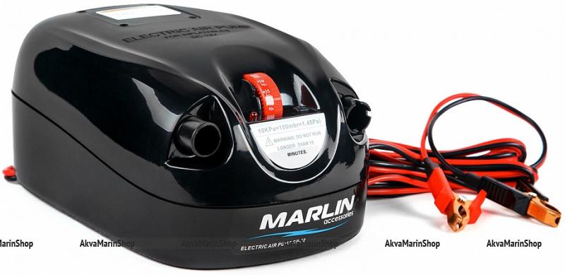 Электрический насос высокого давления для надувной лодки MARLIN GP-80 с механическим регулятором давления