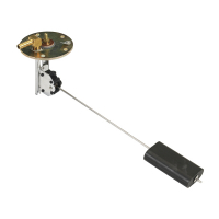 Электронный датчик уровня со штуцером для возврата топлива 102-685 мм Арт TDC 07153