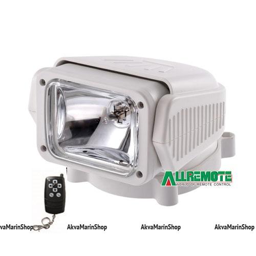 Фара-искатель радиоуправляемый белый односкоростной 55W Allremote Арт KMG320023
