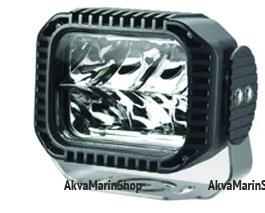 Прожектор светодиодный с чёрным алюминиевым корпусом 30 Вт Allremote Арт KMG320028