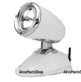 Фараискатель ксеноновый радиоуправляемый в хромированном алюминиевом корпусе Allremote Арт KMG 320021