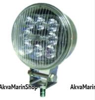 Фараискатель светодиодный круглый диаметр 110 мм Арт KMG320034