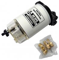 Фильтр сепаратор 10 микрон с прозрачным водосборником Арт CMG 410079