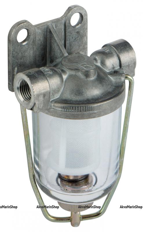 Фильтр топливный для двух и четырёхтактных двигателей с объёмом до 3.00л(фильтрующий элемент нейлон) Арт CMG 410131