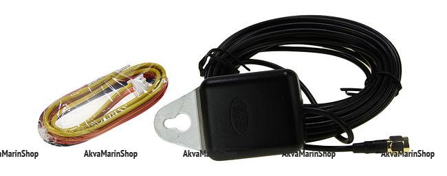 GPS-Спидометр аналоговый 0-60 узлов белый с выносной антенной WEMA Арт KMG510056