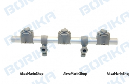 Тарга с тремя замками Borika Арт BS Gr500-3