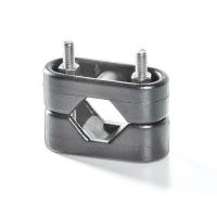 Хомут универсальный для крепления к леерам диаметром 22-25 мм различного оборудования, пластмасса Арт Tm 1109/D