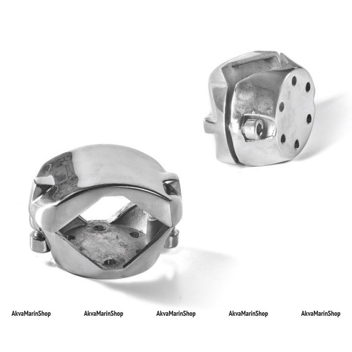 Хомут универсальный для крепления к леерам диаметром 30/35/40 мм различного оборудования. сталь Арт Tm H0298B