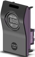 Индикатор напряжения АКБ (вольтметр) с предохранителем на 5 Ампер Арт CMG 310130