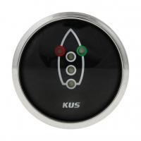 Индикатор включения ходовых огней черный с нержавеющей окантовкой KUS Арт VDNJMV00304_KY99304