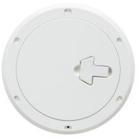 Инспекционный технологический люк с замком белый, диаметр 265 мм SP2401 CAN SB Италия Арт CMG 710132
