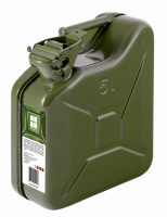Канистра металлическая топлива 5 литров Oktan METALPRO Арт Alb А6-01-01