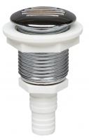 Клапан вентиляции топливного бака диаметр 17-19 мм белый пластик Арт CMG 410223