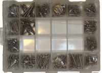 Комплект крепежа для катера - 560 ед. нержавеющая сталь Арт CMG710116