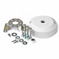 Комплект установки для рулевых редукторов, угол 90°, накладка белая, Multiflex Арт KMG 611016