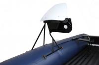 Консоль рулевая с ветровым стеклом на баллон лодки Арт Tnr