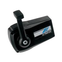 Контроллер совмещенного управления газом и реверсом с фиксатором режима холостого хода с черным корпусом B90 (ULTRAFLEX, Италия) Арт Tm B90