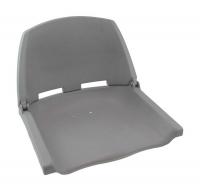 Кресло складное в лодку серое без подушек типа Турист Арт CMG 710183