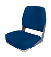 Кресло складное мягкое синее Арт TSSK75103B