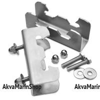 Дополнительный комплект кронштейнов для транцевых колес ТК-150Н Арт Kl ТК-150НD