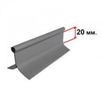 Ликтрос (серый)  метражом, цена за 1 метр Арт Flc