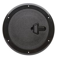 Люк инспекционный с замком диаметр 265 мм черный SP2532 CAN SB Италия Арт CMG710319