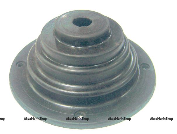 Манжета для одного троса 135х55 мм белая Арт KMG 630062