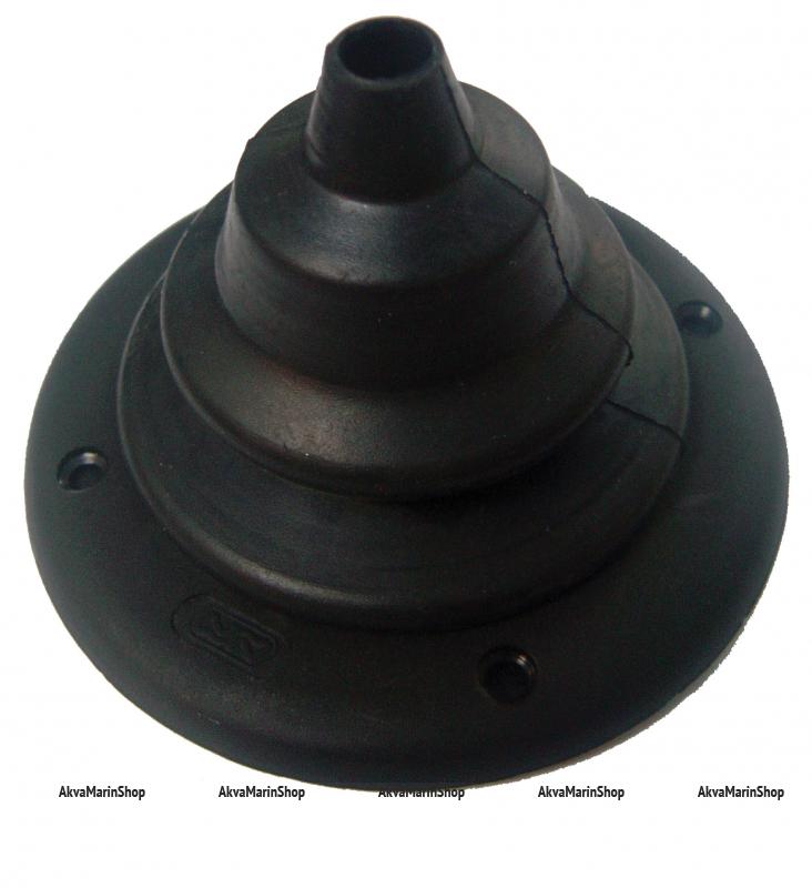 Манжета для одного троса  диаметром 105 мм чёрная, Арт KMG 630004