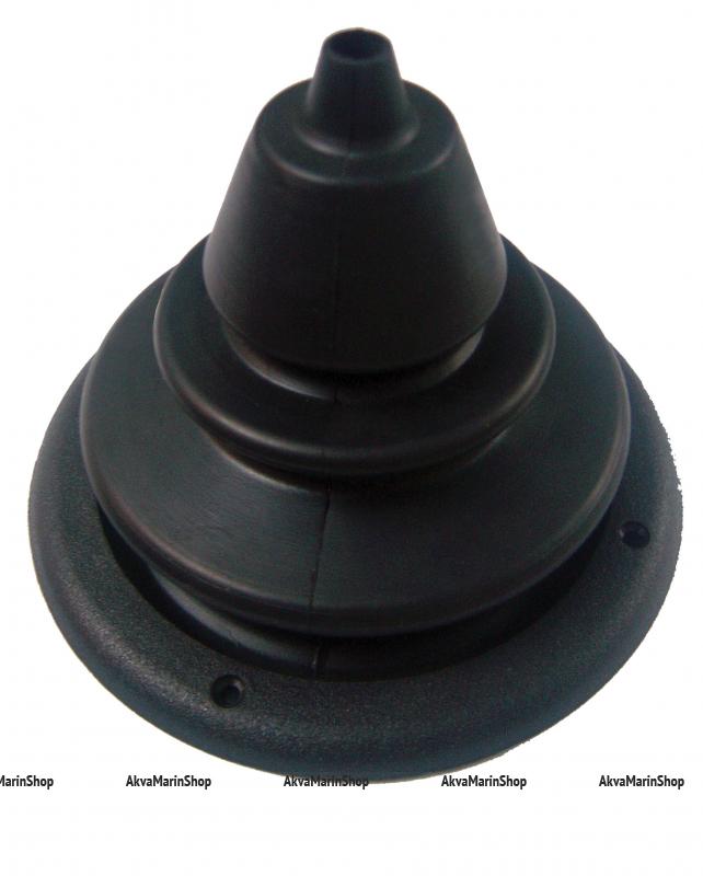 Манжета для одного троса диаметром 150 мм, чёрного цвета Арт KMG 630031