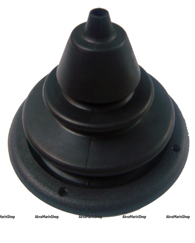 Манжета для одного троса диаметром 150 мм серого цвета Арт KMG 630037
