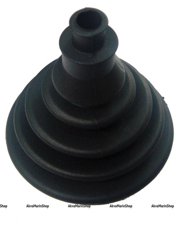 Манжета для одного троса диаметром 69 мм, чёрного цвета Арт KMG 630005