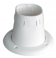 Манжета для пучка тросов 100х50 мм белая Арт KMG 630056