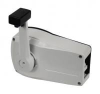 Машинка газ-реверс универсальная MARSOFLEX белый алюминиевый корпус Арт Vdn B89WH