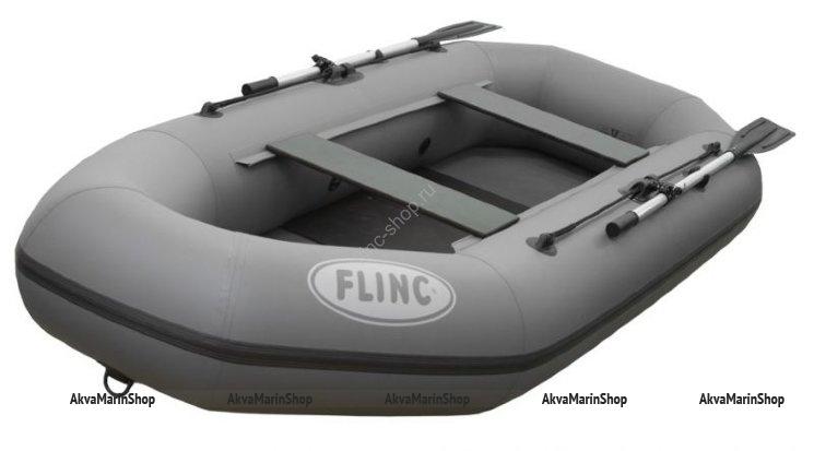 Надувная гребная лодка ПВХ FLINC F260L