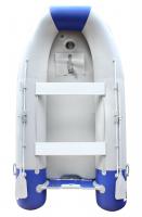 Надувная моторно-гребная лодка Мореман 340 надувной пайол
