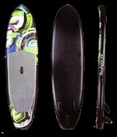 Надувной SUP board Swoosh 10'0 до 80 кг, длина 304 см Арт Bdr Swoosh_10_0