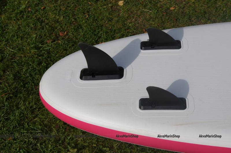 Надувной SUP борд Badger 10.6 розовый до 100 кг, длина 320 см Арт Bdr Camo_VL_10_6