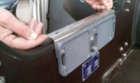 Накладка на транец регулируемая до 30 мм нержавеющая сталь Арт DT