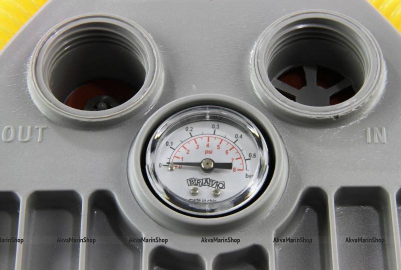Ножной насос лягушка с манометром 5 литров Bravo 7M Арт Bdr 6090017